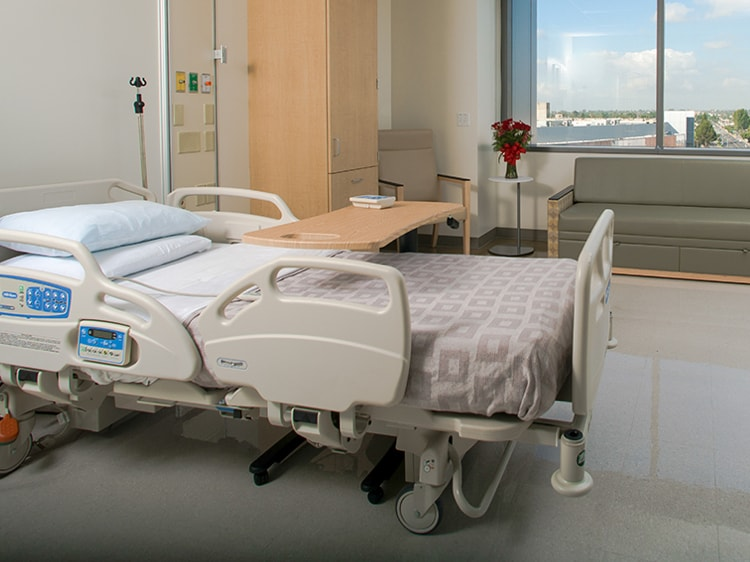 A smart hospital bed